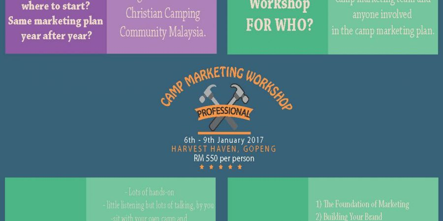 Camp Marketing Workshop 2017